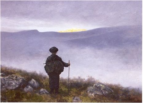 Theodor Kittelsen. Soria Moria. Slightly modified.
