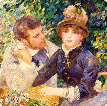 Renoir. In the Garden. 1885. Partial.