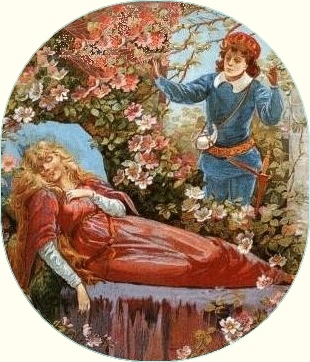 Austrian fairy tales, folktales and legends - Sleeping Beauty and the Prince