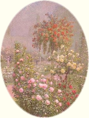 Ernest Quost. Roses. Section.