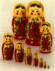 Matruska dolls
