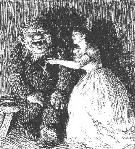 Folktales articles, fronted by A TROLL AND PRINCESS