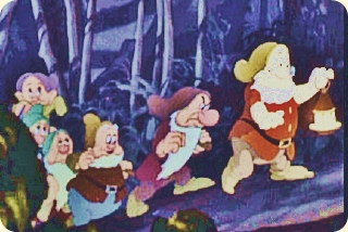 Cartoons, fronted by Snow White 1937 Trailer.