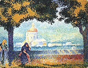 Henri-Edmond Cross. Angeli.