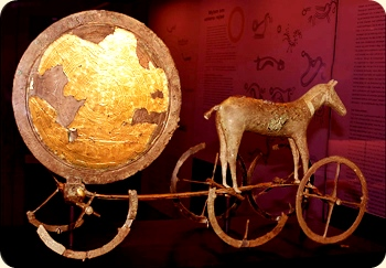 Sun Carriage, Bronze Age artifact from Denmark