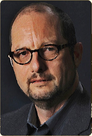 Bart D. Ehrman 2012. Modified section of photo approved by Bart D. Ehrman. Source: WikiCommons