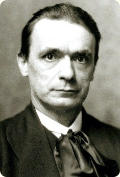 Rudolf Steiner, founder of Anthroposophy and Waldorf Education.