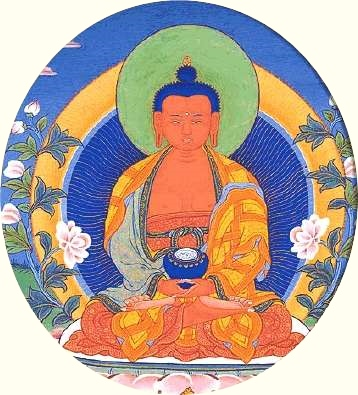 Amitabha, Light without bound and whose splendor is infinite